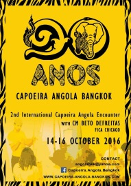 2nd International Capoeira Angola Encounter with CM Beto Defreitas