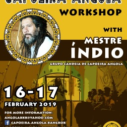 Capoeira Angola Workshop with Mestre Índio | Febuary 2019